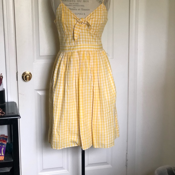 English Factory Dresses & Skirts - Gingham Pinup Dress Size Large
